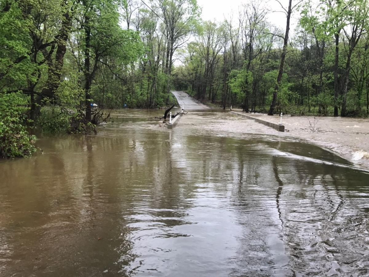 County assessing damage after flood