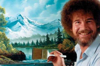 This Bob Ross Coloring Book Is A Dream Come True Simplemost