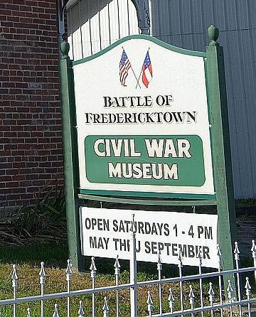 Civil War Museum sign