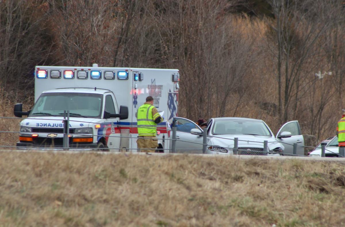 Two injured in four-car accident on U.S. 67 Tuesday