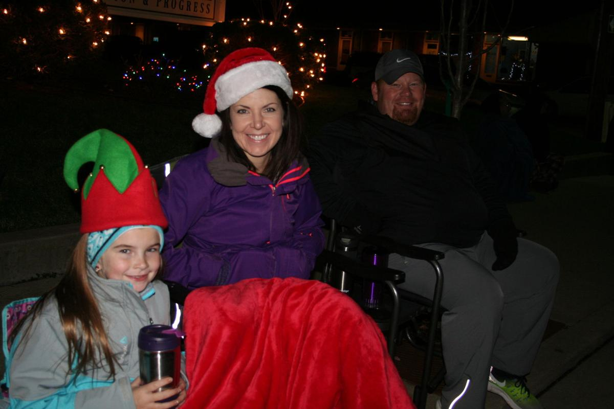 Santa delivers Christmas Season to Farmington