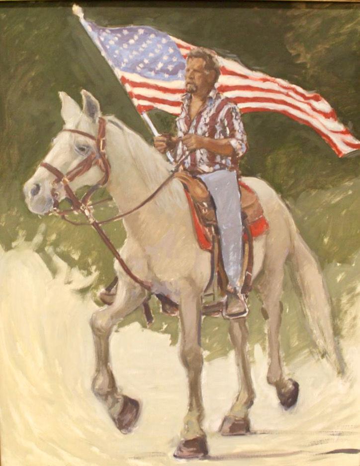 Farmington Library art show promotes 'positive patriotism'