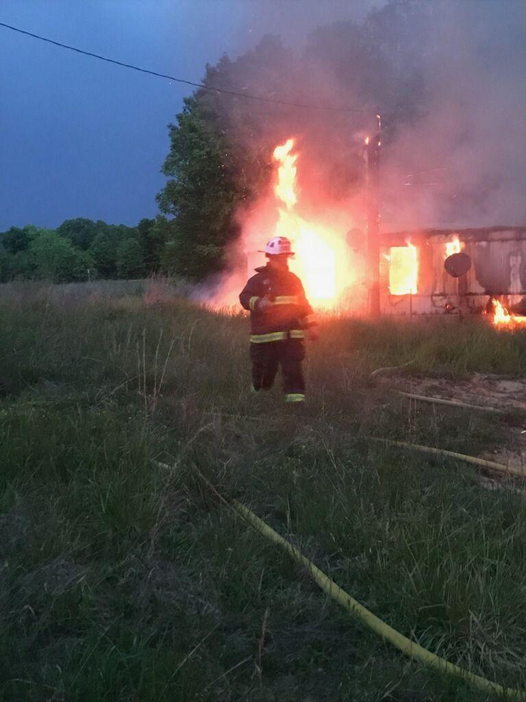 Fire deemed suspicious