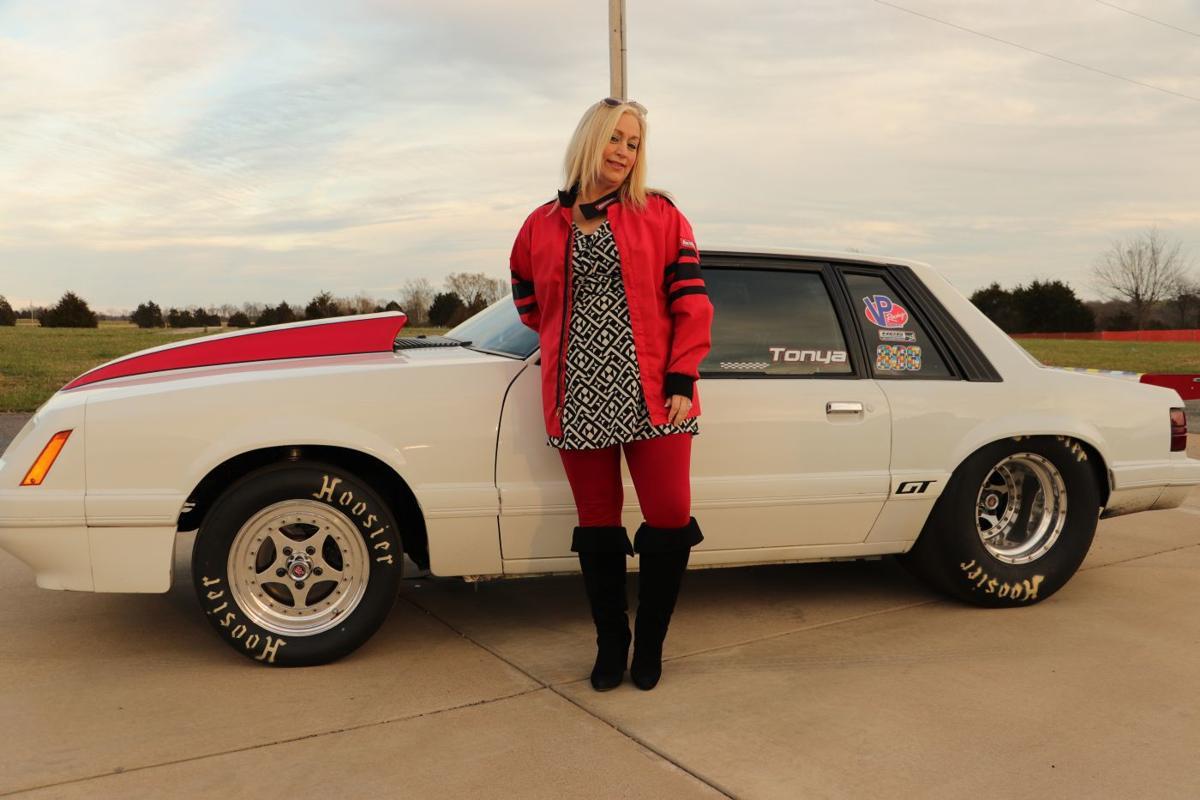 A racing heart: Tonya Johnson