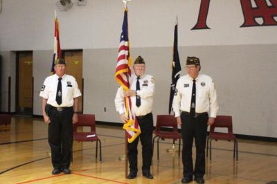 Bismarck schools veterans assembly