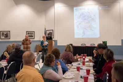 Missouri Whitewater Association members speak at chamber luncheon