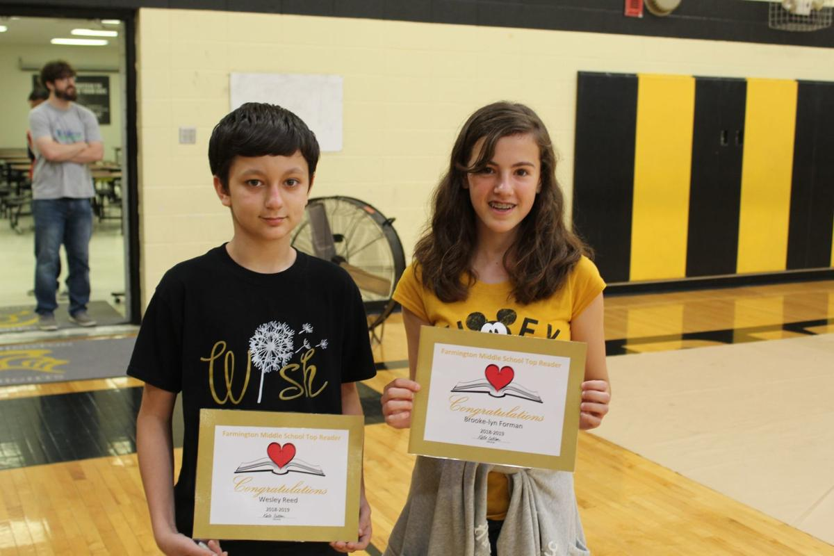 Farmington Middle School Awards Ceremony
