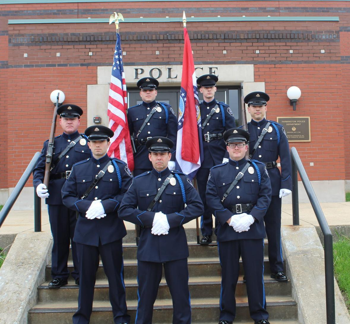 Police department forms honor guard