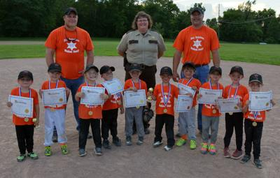 4-5 Year-Old Youth Baseball League Ends Season