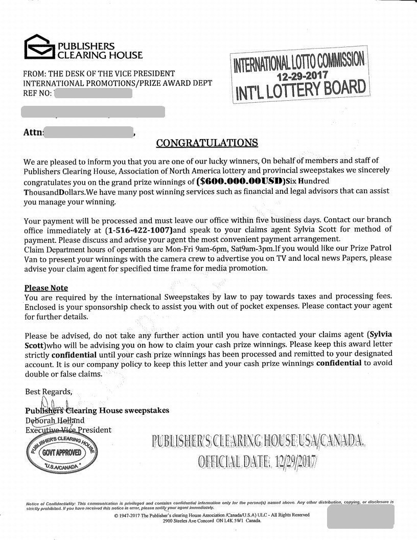 International lottery and sweepstakes commission