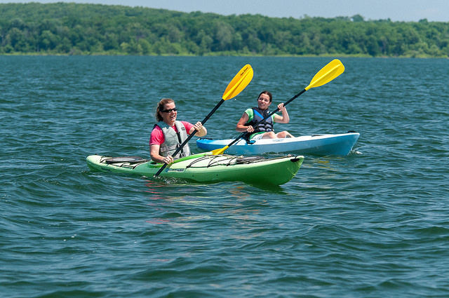 Kayaking lessons to be taught