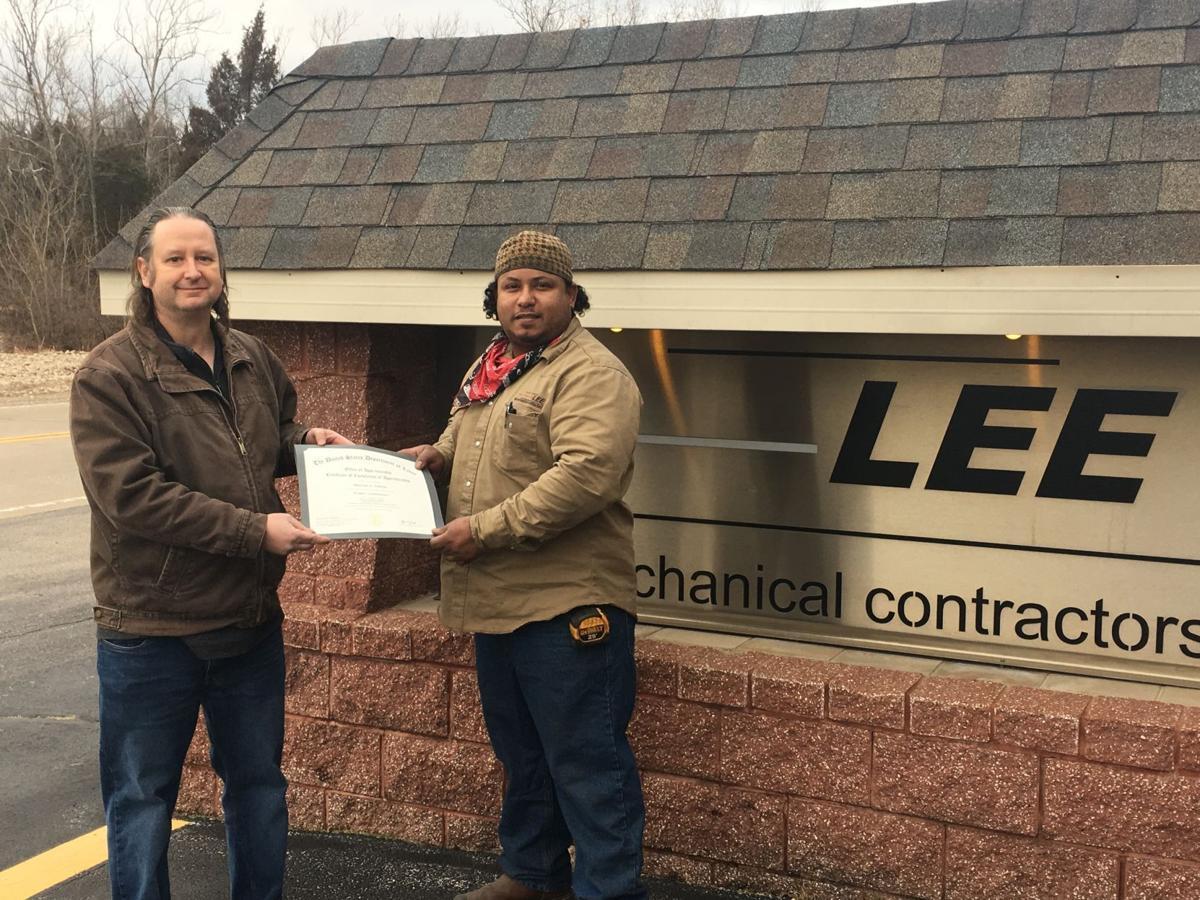 MAC and Lee Mechanical Contractors partner on welding apprenticeships