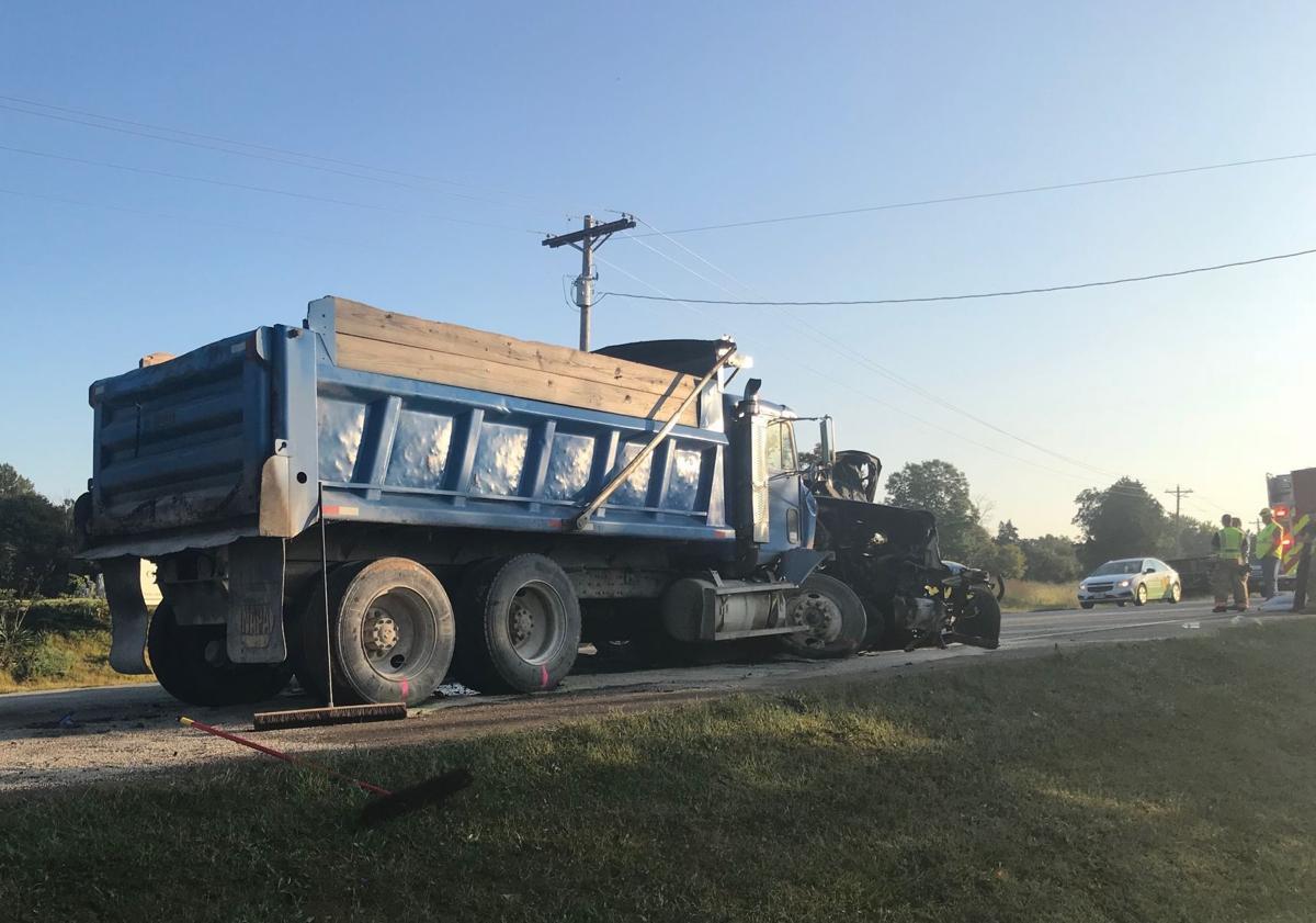 Man killed in crash on 32