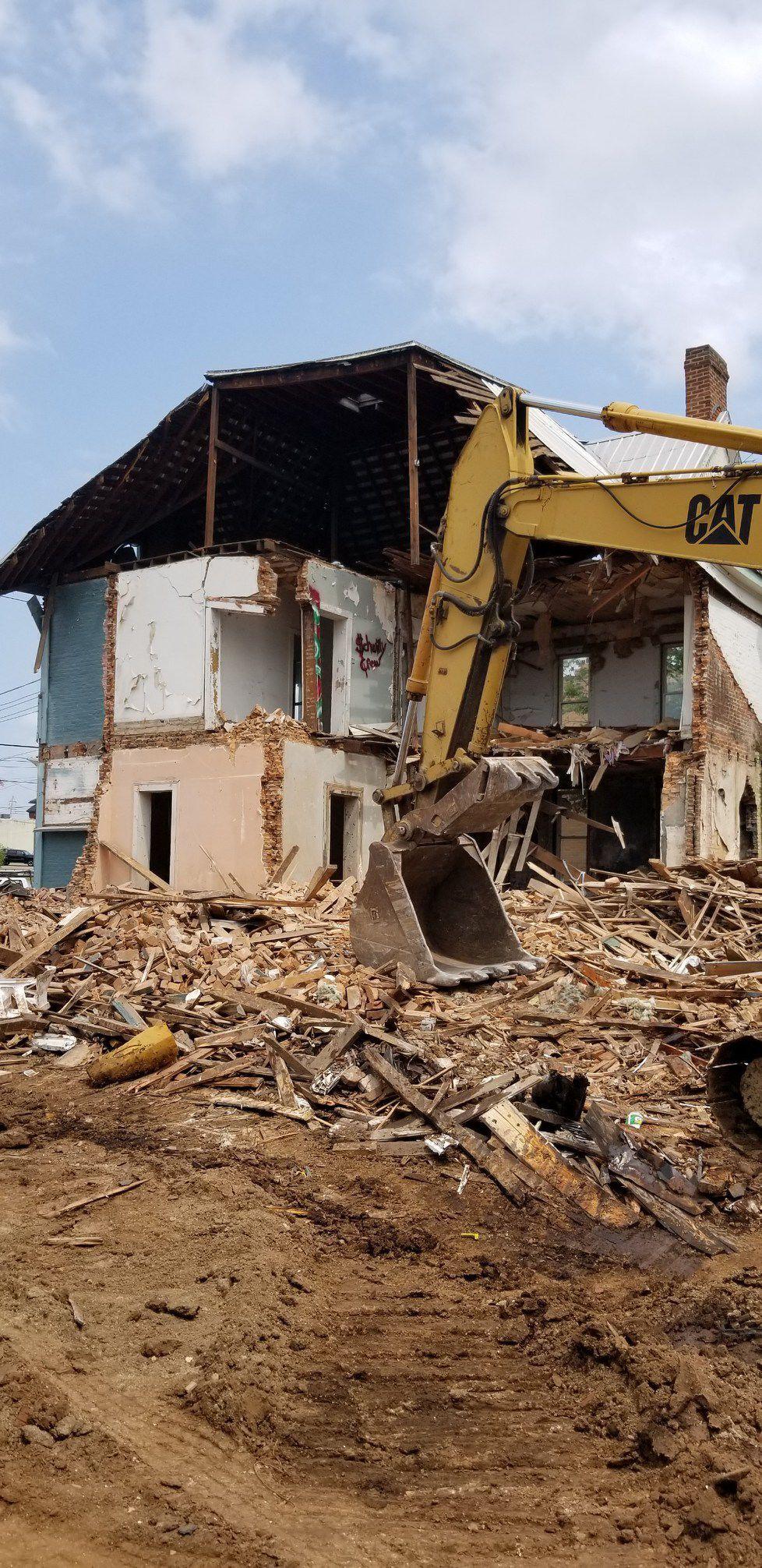Buildings demolished