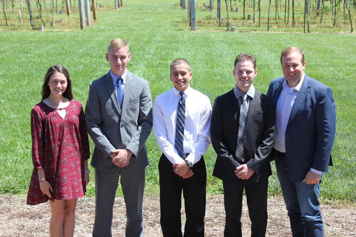 Congressman honors service academy appointees