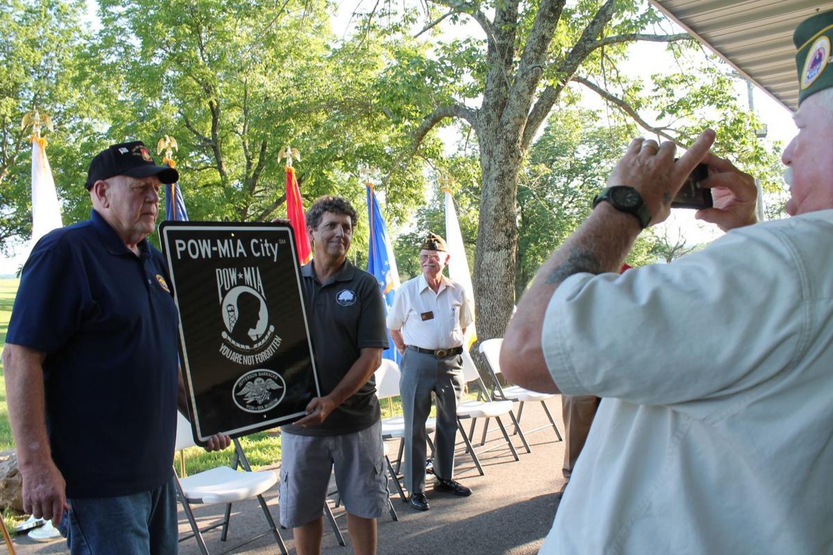 Ceremony marks renaming of park, city designation