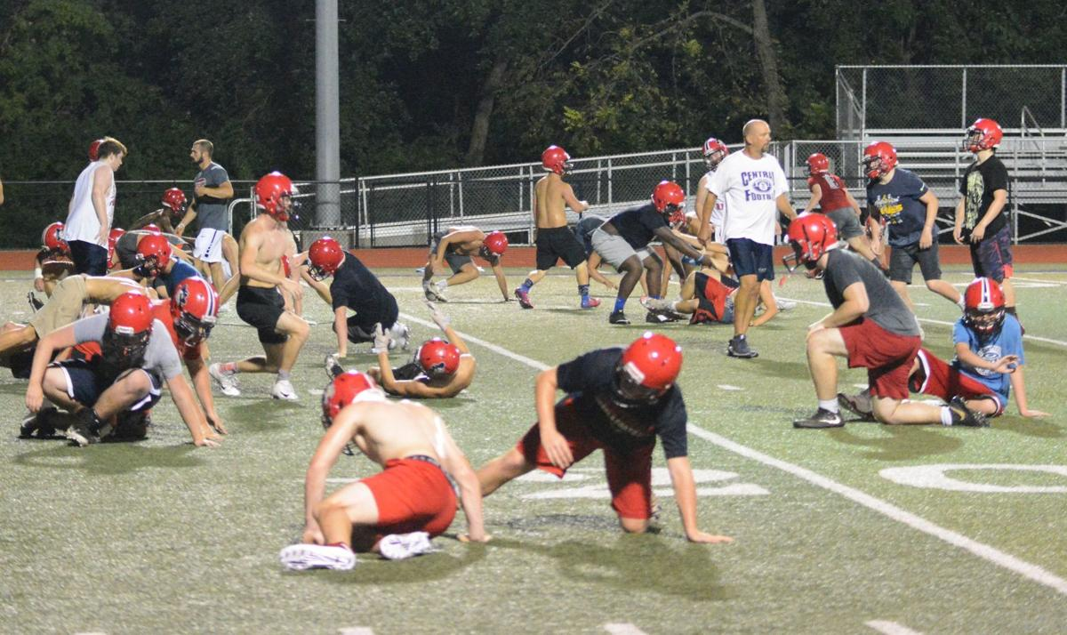 Central Football Practice