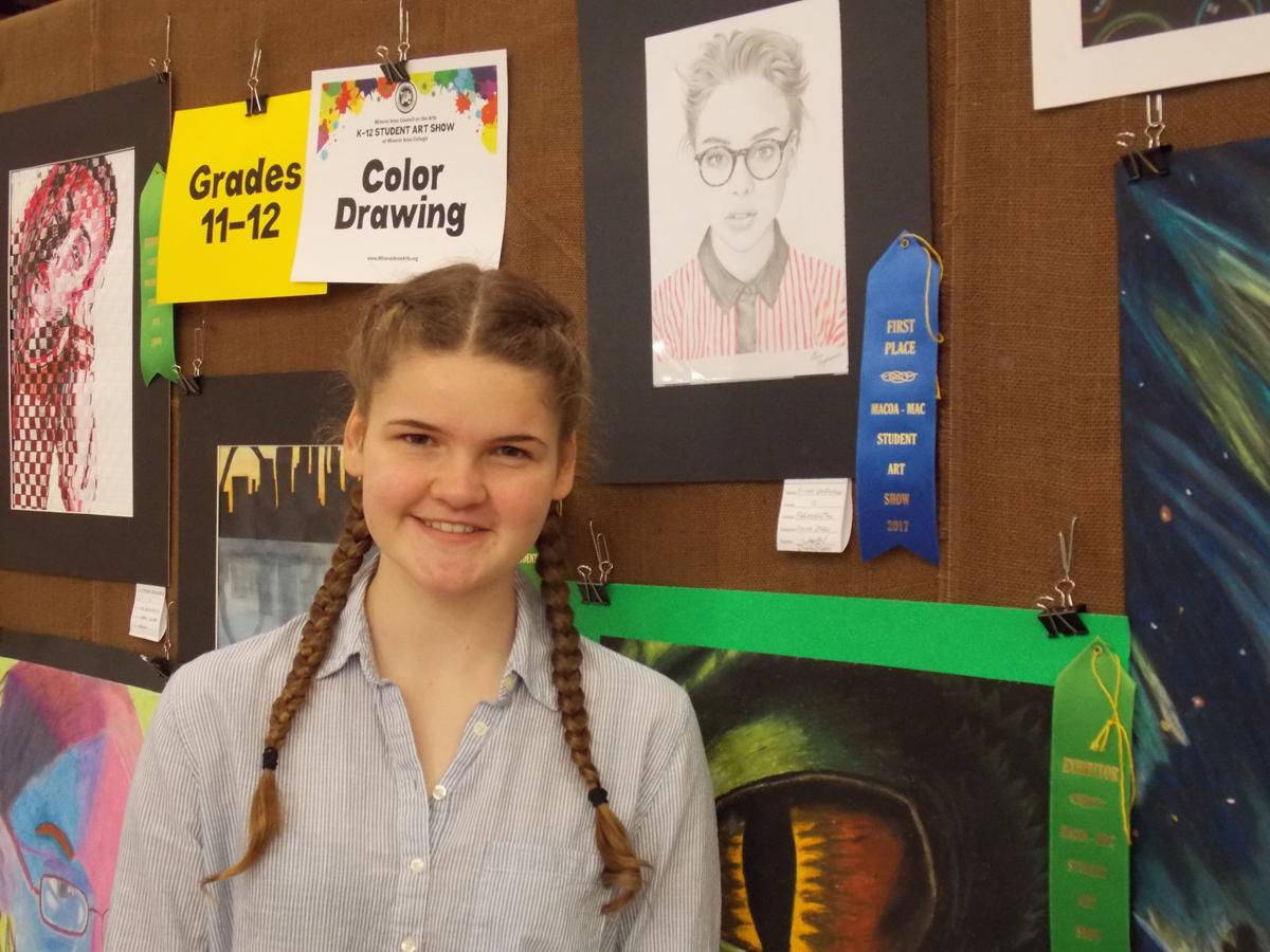 Farmington students show talent at area art show