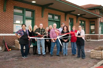 The Depot Cafe Celebrates Anniversary With Ribbon Cutting