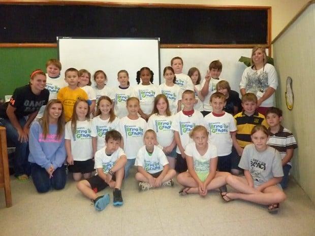 Farmington Kiwanis BUG third graders