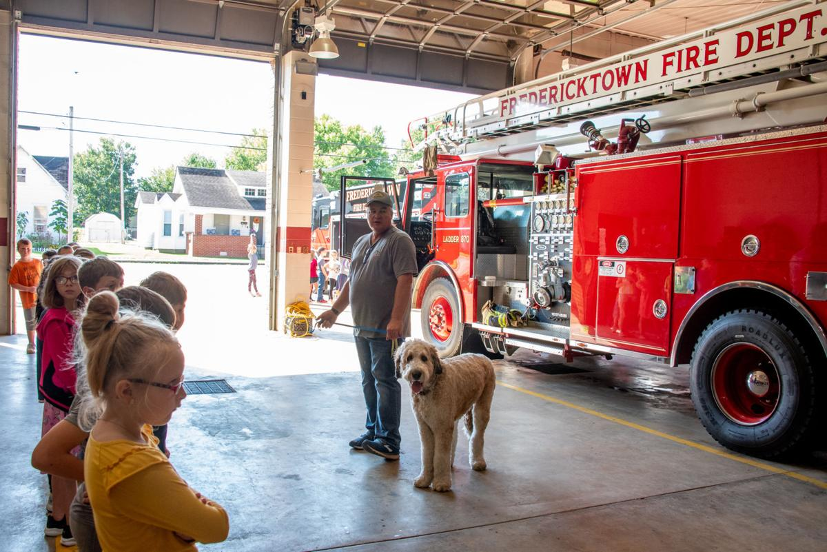 FES visits FFD, Fire Prevention Week