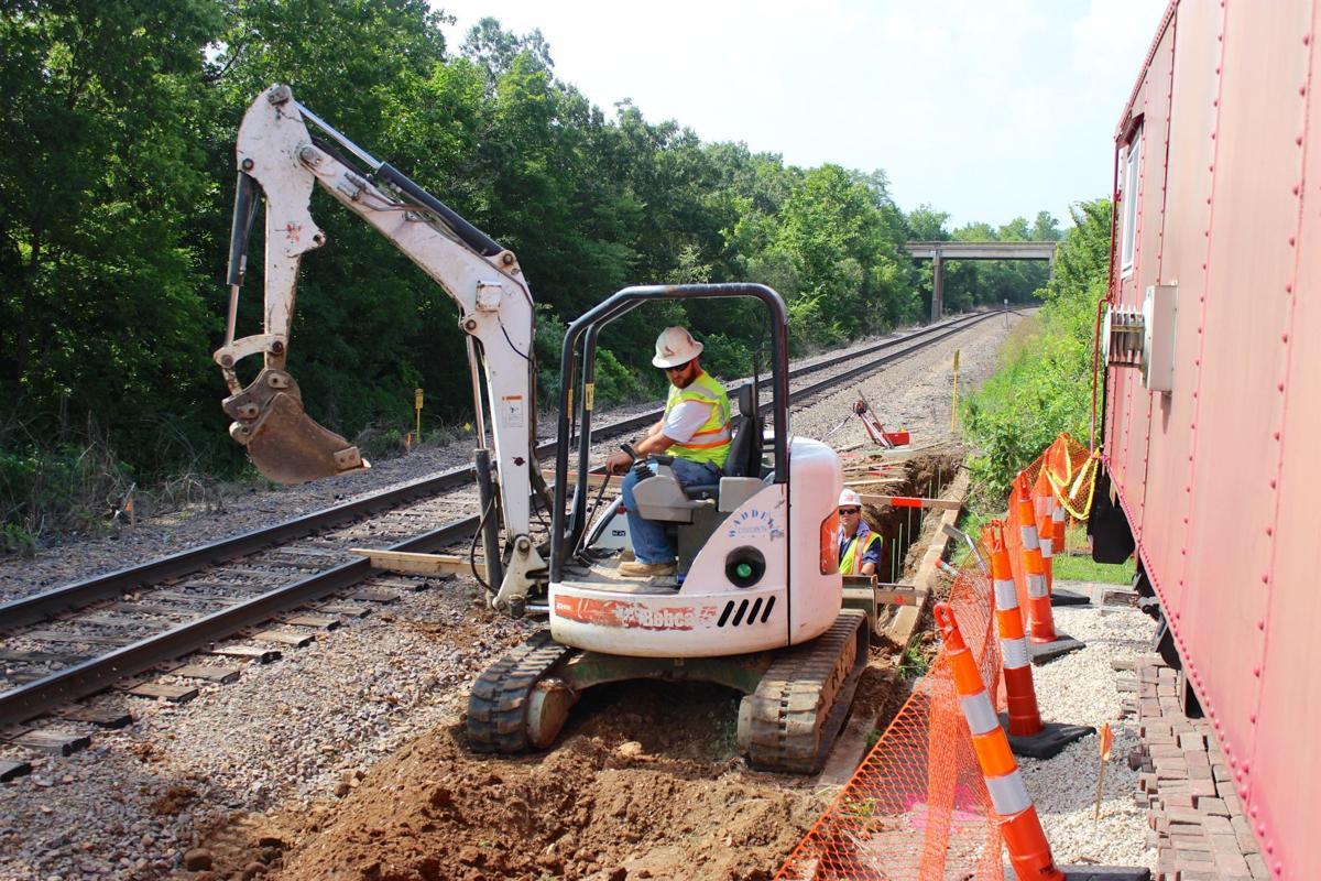 AV Amtrak project 'back on track' after delays