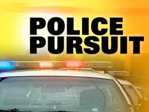 Man in custody following multi-county pursuit