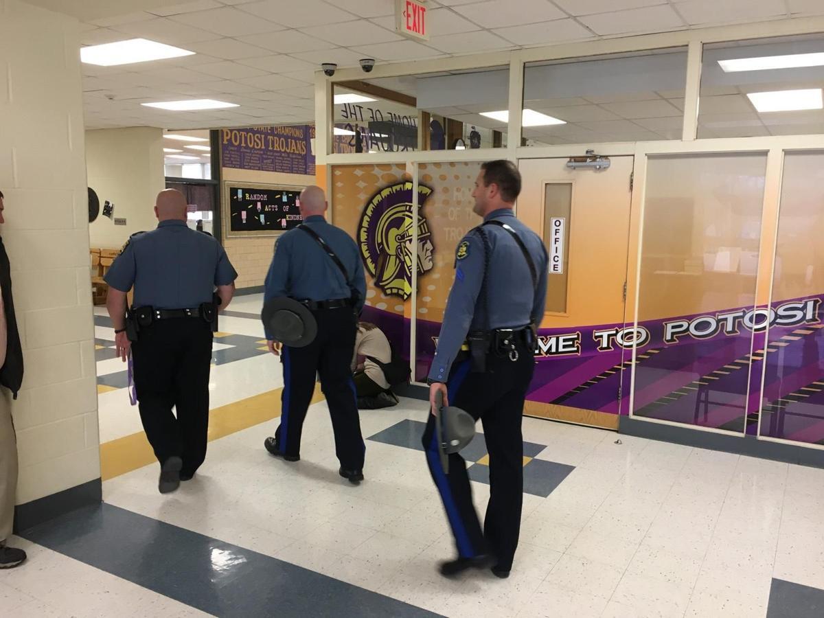 Highway patrol to walk through schools