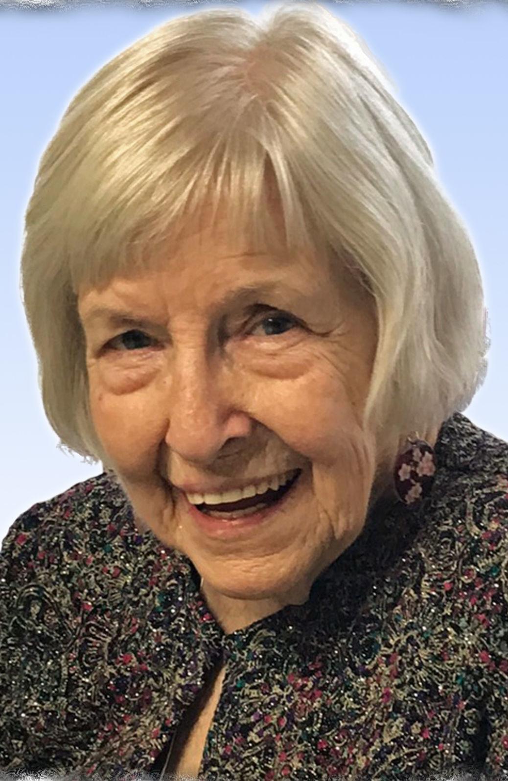 Joan 'Joey' Evelyn Straughan