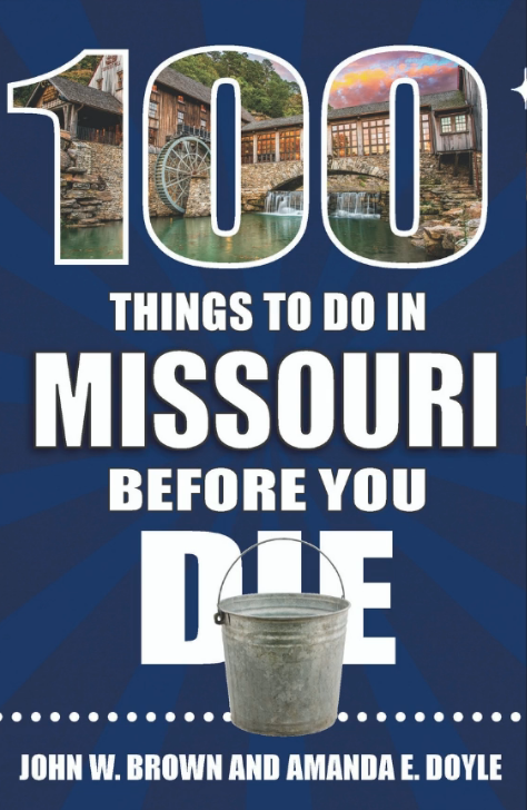 Book offers 'bucket list' of 100 things to do in Missouri
