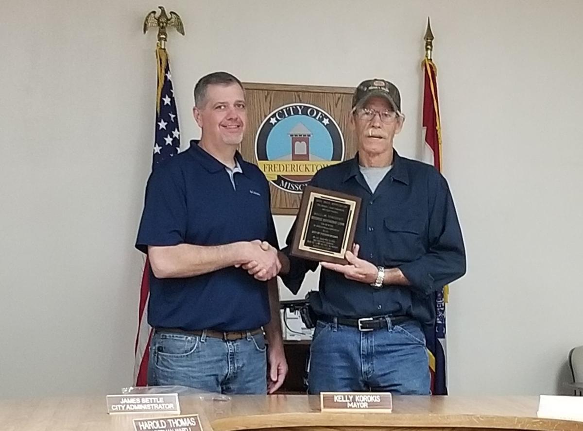 Ray Link retires from City of Fredericktown