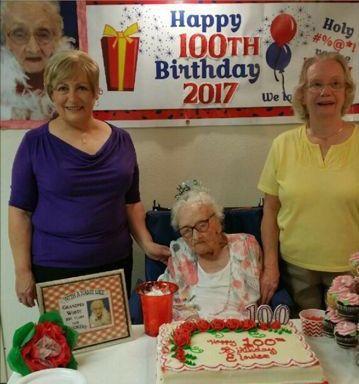 Celebrating 100th birthday