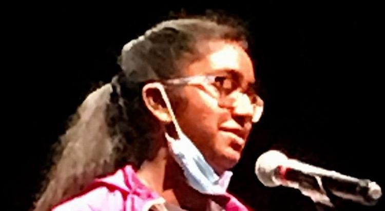Local middle schooler wins regional spelling bee