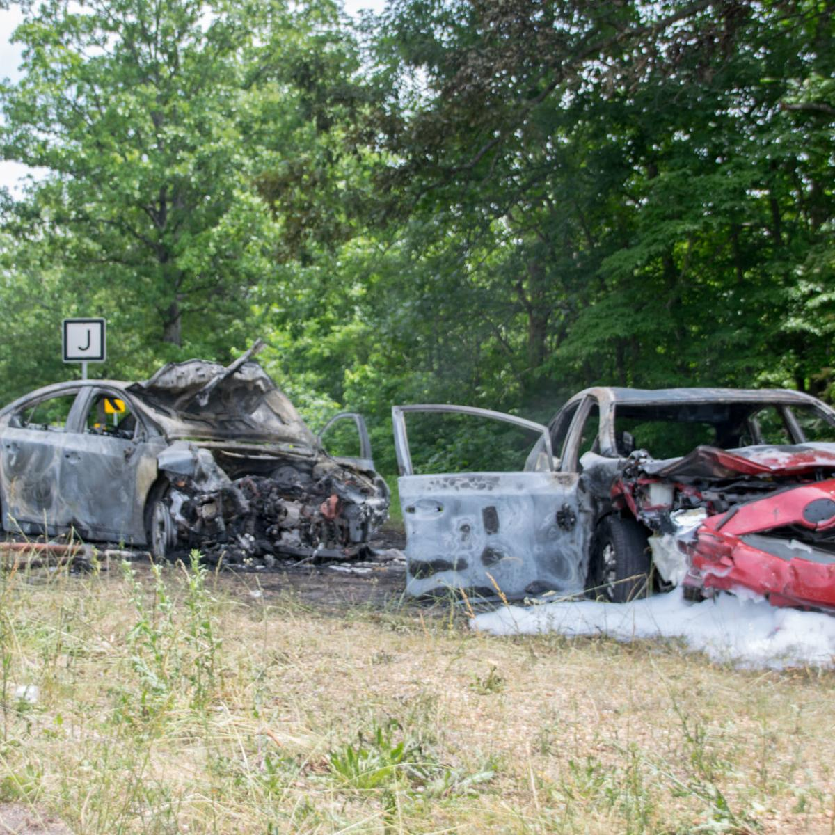 Collision results in fire, injuries | Daily Journal News