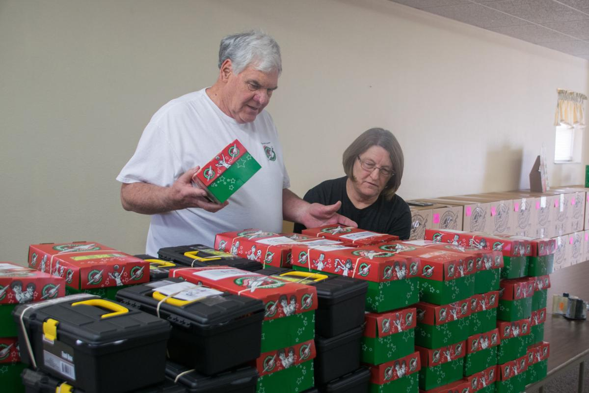 Collections begin for Operation Christmas Child