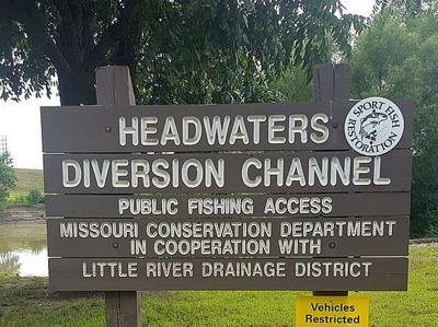Headwaters Access Sign