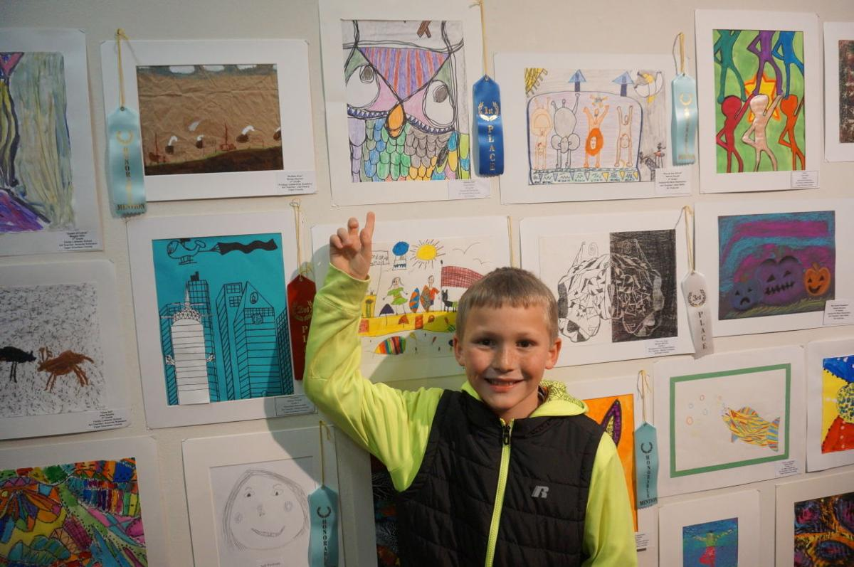 Roosevelt Elementary artists show work in Capital