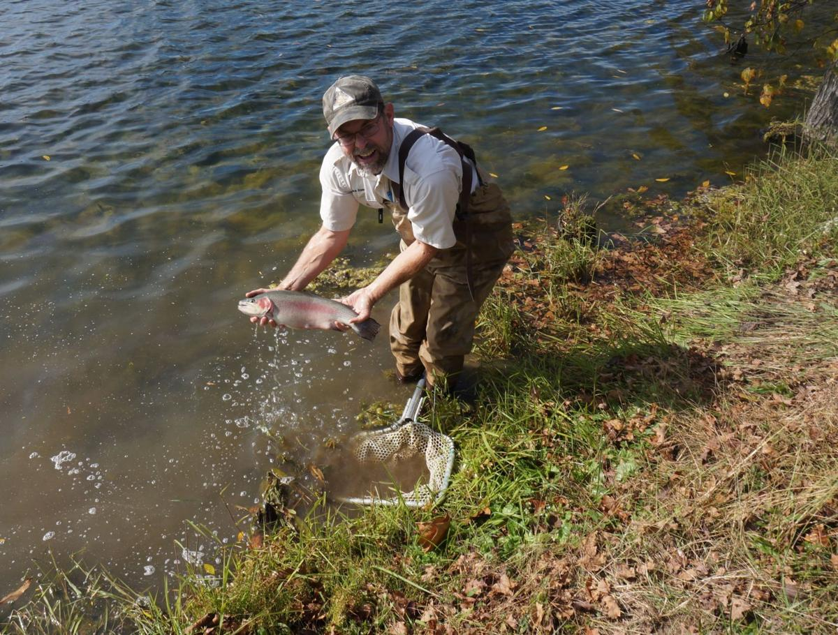 MDC stocks trout in southeast Missouri lakes