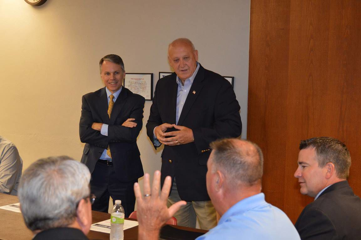 State reps Wright, Francis discuss need for new bridge
