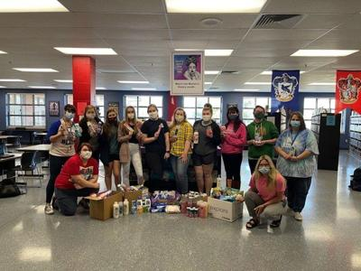 CHS Library donates to PRC