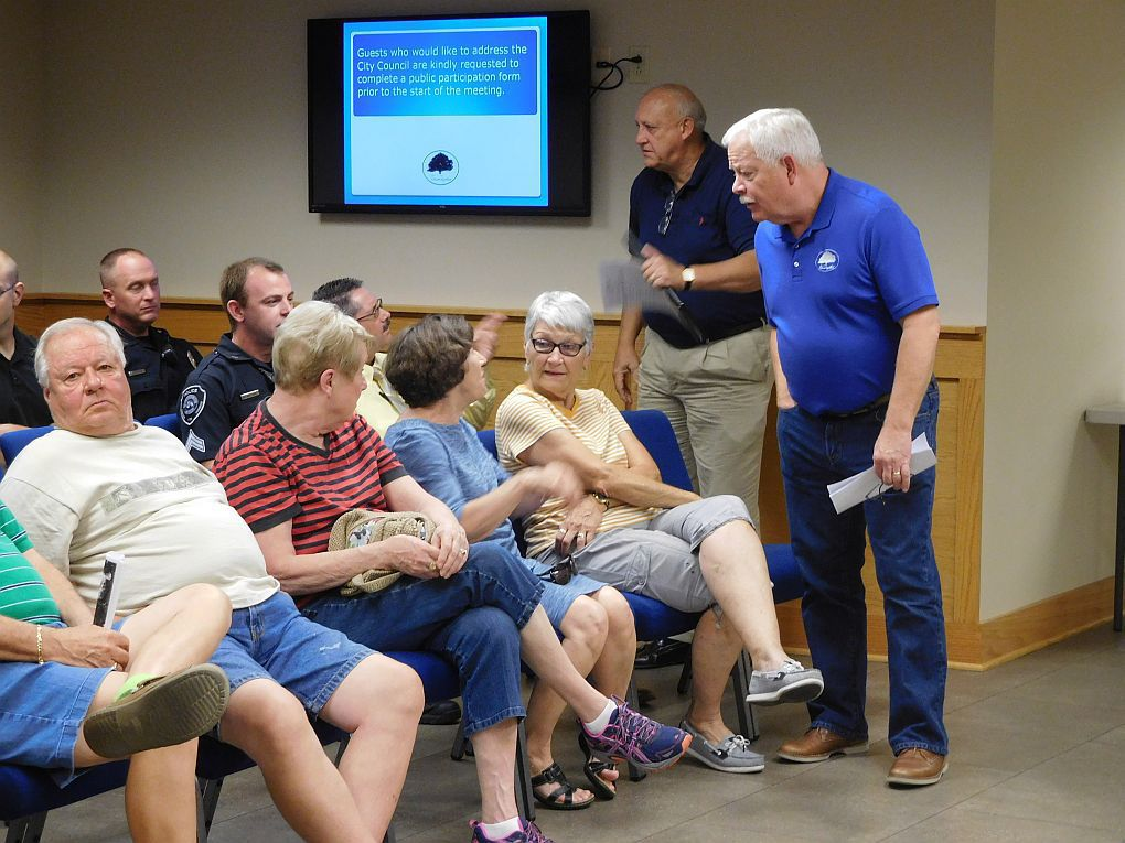 Council holds public hearings