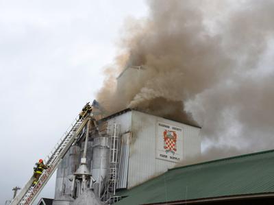 Madison County Farm Supply Fire