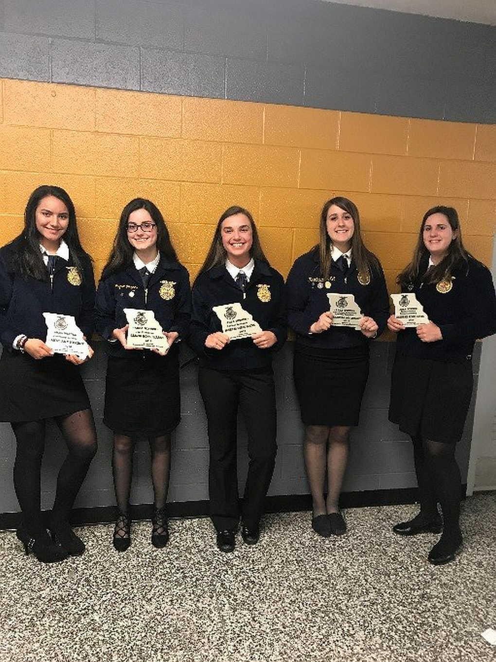 Students recognized at State FFA Convention
