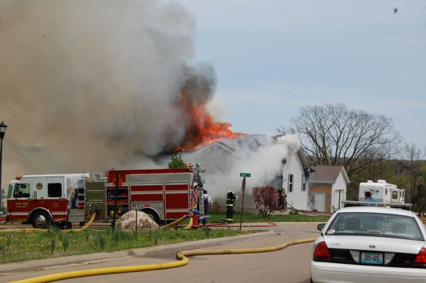 Three fires reported Sunday afternoon