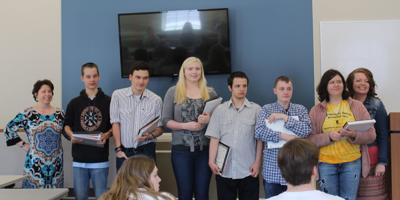 Visions of Hope holds intern graduation