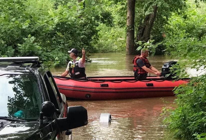 CPVFD Water Rescue