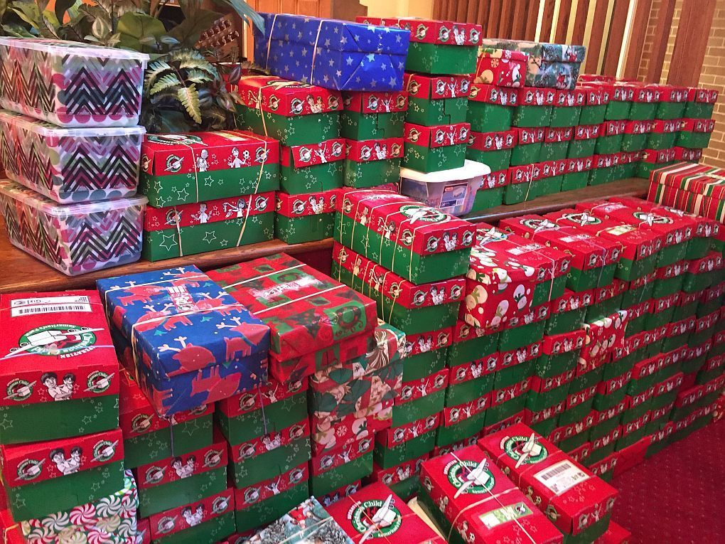 Christmas Shoebox Ministry.Collection Week Begins For Shoebox Ministry Daily Journal