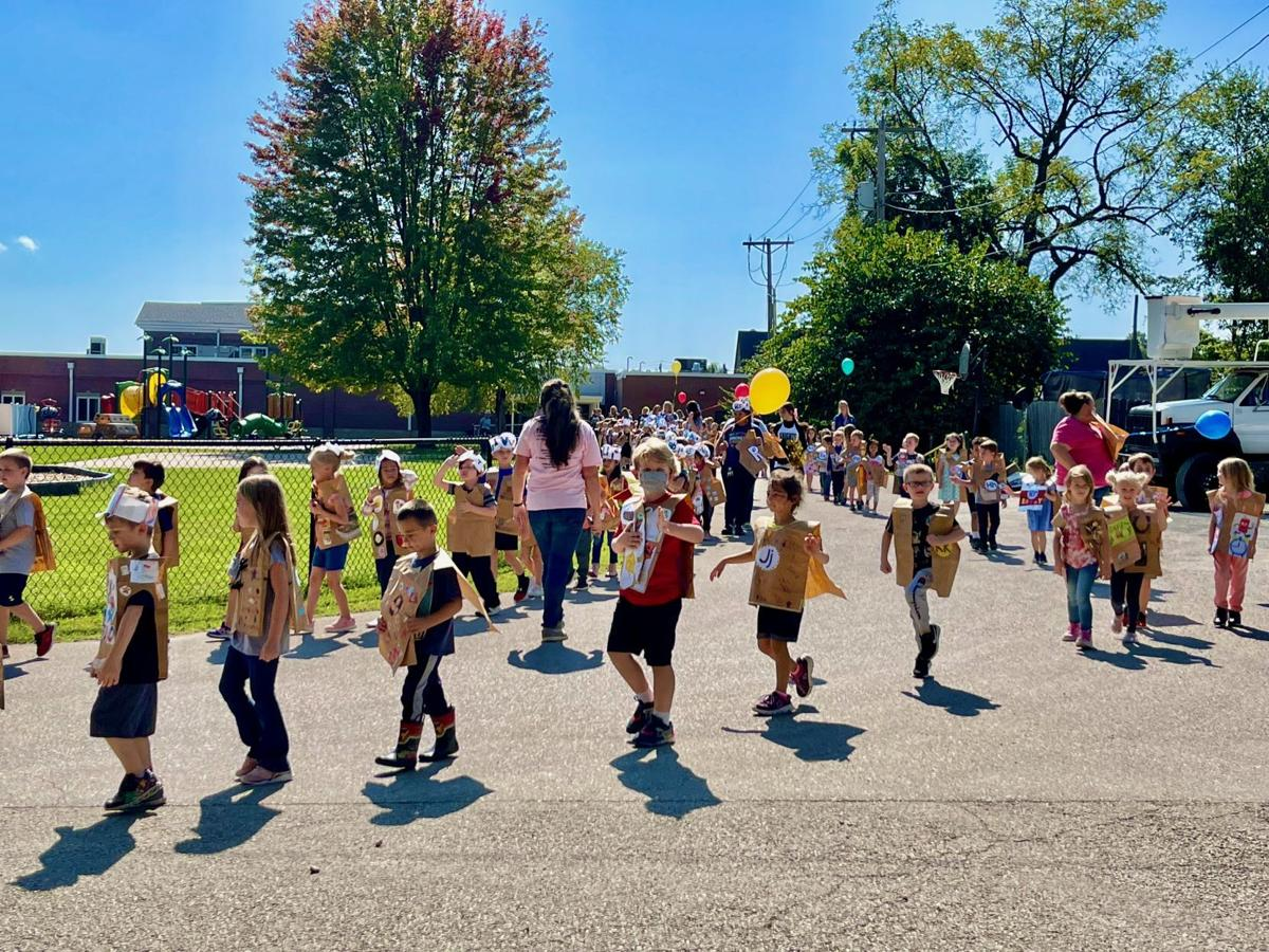 'ALPHABET MARCH' AT TRUMAN LEARNING CENTER