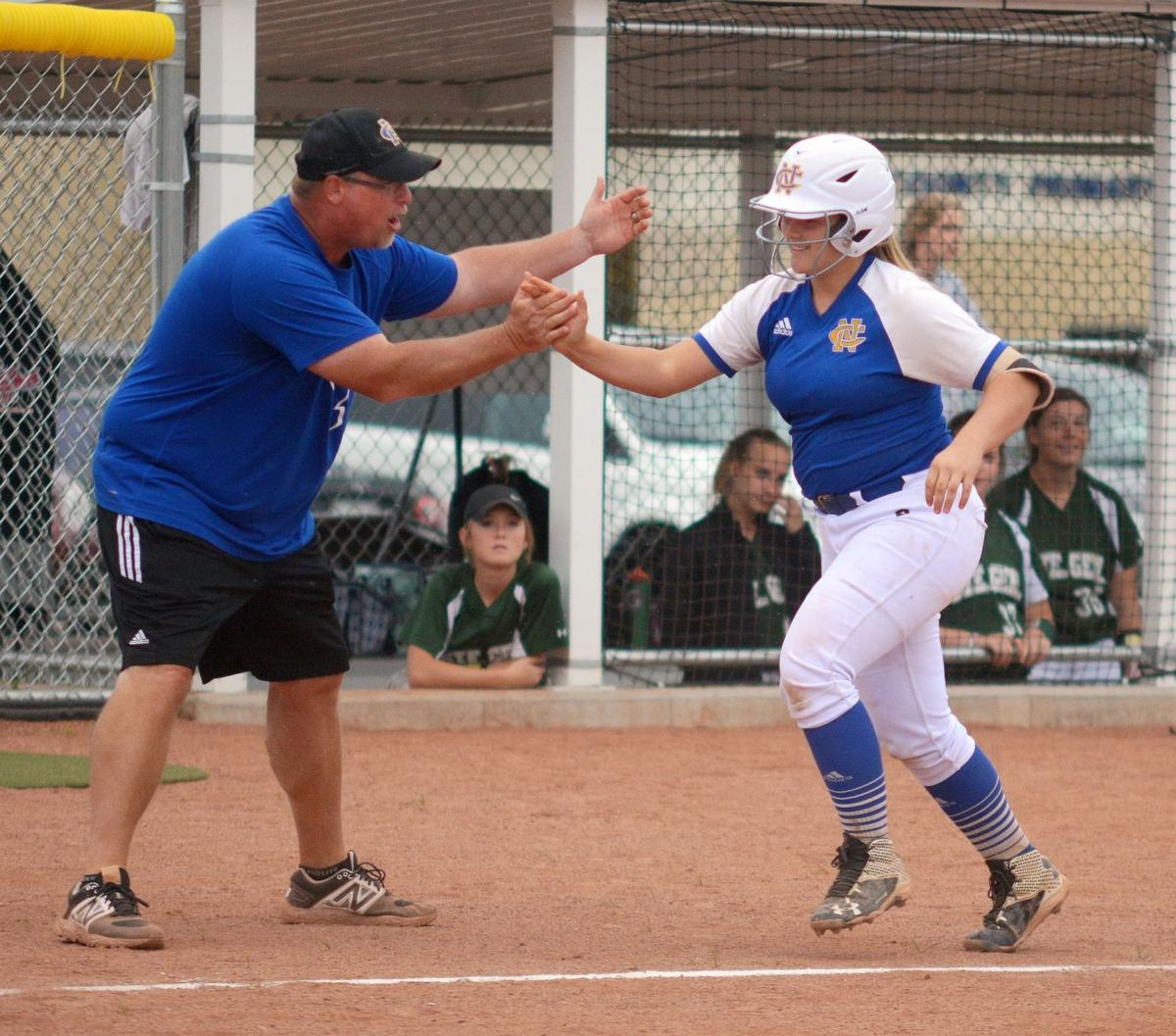 Lady Raiders explode with two 8-run frames | Softball ...