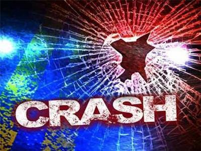 Woman injured in crash Monday